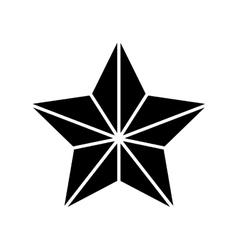 Geometric star icon image vector