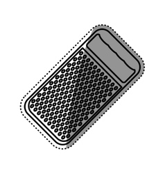Kitchen grater isolated vector
