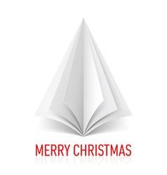 Merry christmas corner paper 01 vector