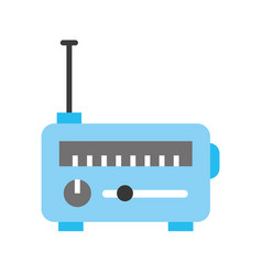 news satellite radio vector image