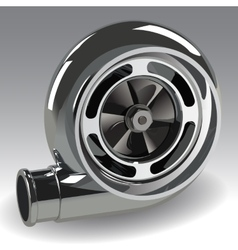 Turbo Compressor vector image