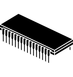 Stencil of chip vector