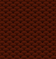 Chocolate blobs abstract background vector