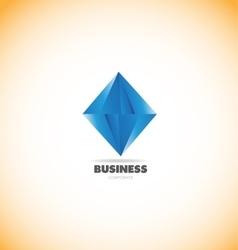Business corporate diamond logo icon vector
