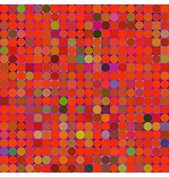Colorful mosaic pattern vector image vector image