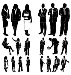Fashion women and man vector