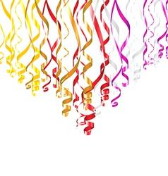 Serpentine ribbons vector