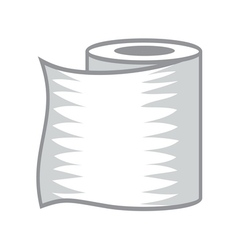 Toilet paper icon1 resize vector image vector image