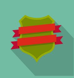 badge design icon flat style vector image