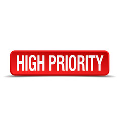 High priority vector
