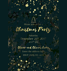 Invitation christmas party-02 vector