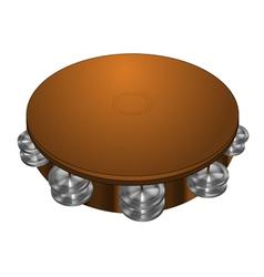 Tambourine vector