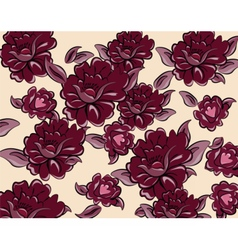 Roses background for cards vector