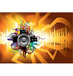 sound 09 vector image