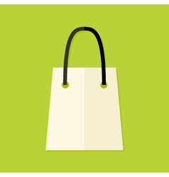 Shopping Pack Flat Icon vector image