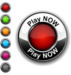 Play now button vector