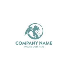 Dragon logo-3 vector