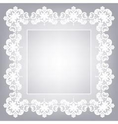Retro stylish frame vector image