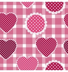 Seamless background for cushion pillow bandanna vector