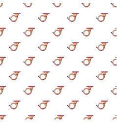 cornet pattern seamless vector image