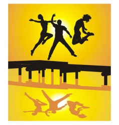 active people vector image