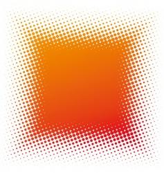 halftone square vector image
