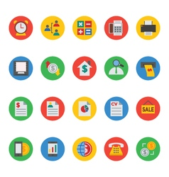 Business and finance icons 6 vector