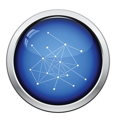 Connection net icon vector image