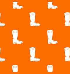 cowboy boot pattern seamless vector image