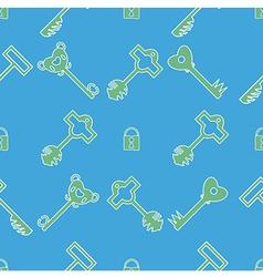 Keys pattern vector image vector image
