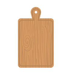 kitchen board wooden icon vector image