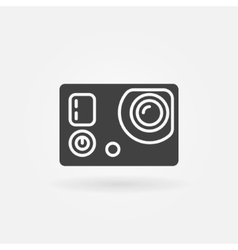 Action camera icon or logo vector image