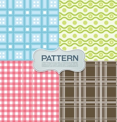 Pattern cloth vector