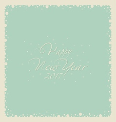Happy New Year 1123 vector image vector image