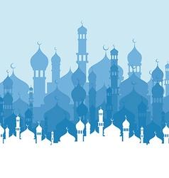 islamic theme vector image vector image