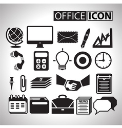Office icon for bussiness vector