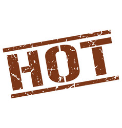 Hot stamp vector