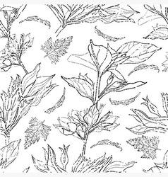 flower seamless 09 grunge vector image