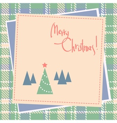 christmas scrapbook design vector image vector image