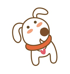 Icon dog vector
