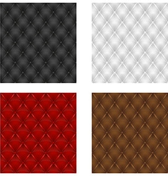 leather upholstery 05 vector image