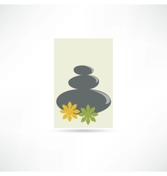 spa salon icon vector image vector image