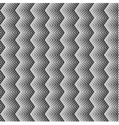 wavy zigzag vertical lines seamless pattern vector image vector image