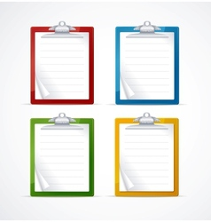 check list icon set vector image