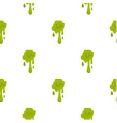 Green slime spot pattern seamless vector