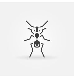 Ant icon or logo vector
