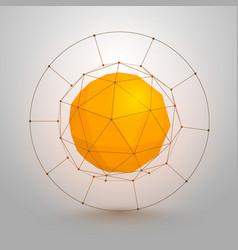 Polygonal sphere of information vector