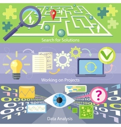 Search for solution data analysis working project vector