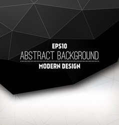 Abstract triangular design vector