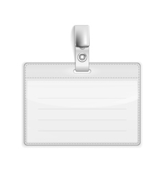 Badge holder vector